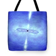 Jets Formed During A Grb Event Tote Bag by NASA / Science Source