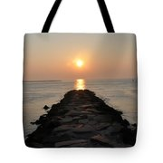 Jetty Sunrise Tote Bag