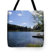 Jewel Lake Beach Chair Tote Bag
