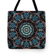 Jeweled Turquoise Tote Bag
