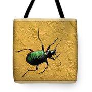 Jeweltone Beetle Tote Bag