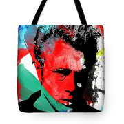 Jimmy Green Tote Bag