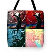 Jimmy Hendrix Pop Tote Bag