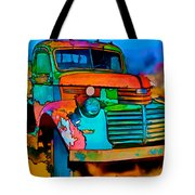 Jimmy In Taos II Tote Bag