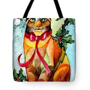 Jingle Cat Tote Bag