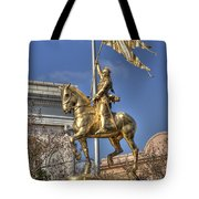 Joan Of Arc Statue New Orleans Tote Bag