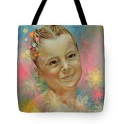 Joana's Portrait Tote Bag