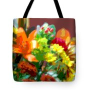 Joannes Flowers Tote Bag