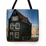 Jodenbreestraat 1. Amsterdam Tote Bag