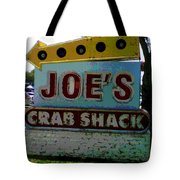 Joe's Crab Shack Tote Bag