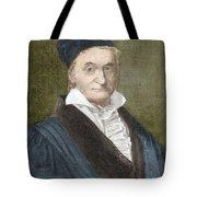 Johann Carl Friedrich Gauss, German Tote Bag