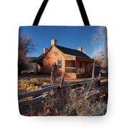 John And Ellen Wood Home Tote Bag