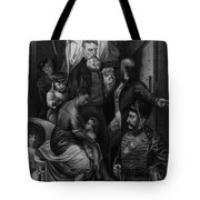 John Brown Meeting Slave Mother Tote Bag by Photo Researchers
