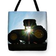 John Deere In The Morning Sun Tote Bag