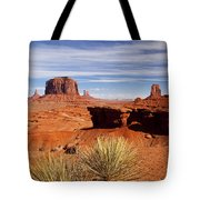 John Ford Point Monument Valley Tote Bag