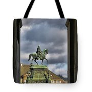 John Of Saxony Monument - Dresden Theatre Square Tote Bag