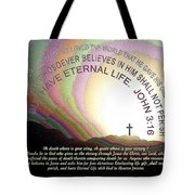 Cross, Jesus 114 Tote Bag