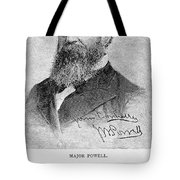John Wesley Powell Tote Bag