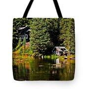 Johnny Sack Cabin II Tote Bag by Robert Bales