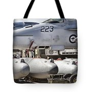 Joint Operations Squadron V4  Tote Bag