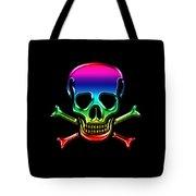 Jolly Roger Rainbow Tote Bag