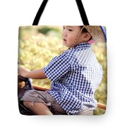Jonah And Elijah 6 Tote Bag