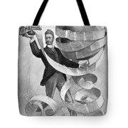 Joseph Pulitzer Tote Bag by Granger