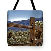 Joshua Tree Cholla Garden Tote Bag