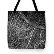 Journey Inward Monochrome Tote Bag