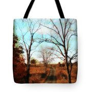 Journey To The Past Tote Bag