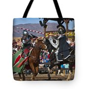Joust To The End... Tote Bag