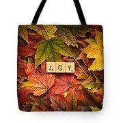 Joy-autumn Tote Bag