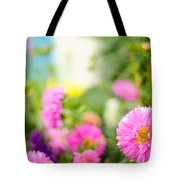 Joy Of Summer Time Tote Bag by Jenny Rainbow