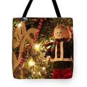 Joy To The Season Tote Bag