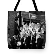 Jrotc Carrying Flag In The Parade Tote Bag