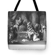 Judgment Of Solomon Tote Bag