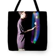Juggling Light-up Balls Tote Bag
