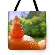 Juggling Oranges Tote Bag