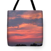July 10 Sunset One Tote Bag
