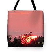 July 16 Sunset Four Tote Bag