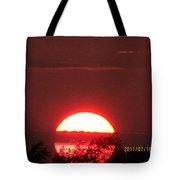 July 16 Sunset Six Tote Bag
