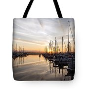 July Evening In The Marina Tote Bag