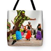 Jump Up Tote Bag