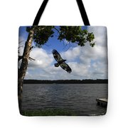 Junenile Eagle Rocky Fork Lake Tote Bag