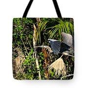 Jungle Flight Tote Bag