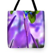 Jungle Iris Tote Bag