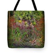 Jungle Palm Tote Bag