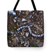 Junkyard Macro No. 16 Tote Bag