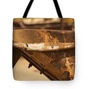 Junkyard Macro No. 20 Tote Bag