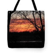 Just A Little Bit Higher -- Sunrise Tote Bag